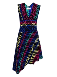 Peter Pilotto Galaxy Broderie Anglaise Knit Dress