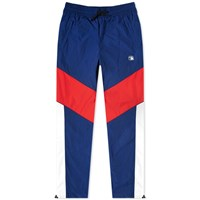 Alexander Wang Lightweight Nylon Olympic Track Pant Blue