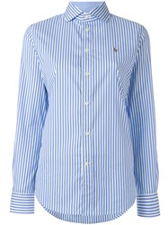 Polo Ralph Lauren Striped Shirt Blue