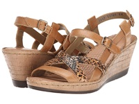 Lobo Solo Melly Sling Nude Multi Leather Women's Sandals Brown