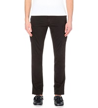 Ralph Lauren Slim Fit Stretch Cotton Trousers Polo Black