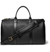 Tom Ford Full Grain Leather Holdall Black