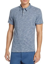 Theory Bron Ocean Slub Slim Fit Polo Shirt 100 Bloomingdale's Exclusive Trim
