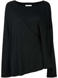 Societe Anonyme 'Double' Knitted Top Black