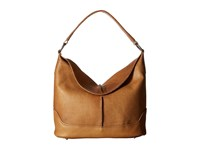 Frye Cara Hobo Beige Washed Oiled Vintage Hobo Handbags Brown