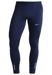 Nike Performance Tights Midnight Navy Game Royal Blue