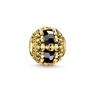 Thomas Sabo Yellow Gold All Around Skull Karma Bead N A N A
