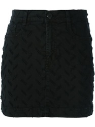 Vivienne Westwood Anglomania 'Table' Mini Skirt Black