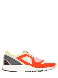 Adidas By Stella Mccartney Alayta Mesh And Nylon Running Sneakers