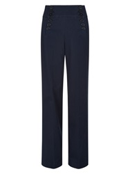 Hobbs Carrie Trousers Navy