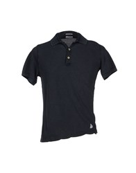 Authentic Original Vintage Style Topwear Polo Shirts Men Slate Blue