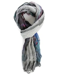 Ikks Multi Colour Palm Tree Scarf