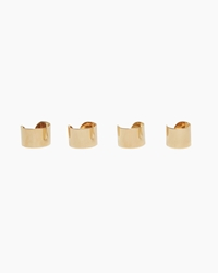 Maison Martin Margiela Line 11 Quadruple Cuff Rings Gold