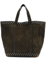Vanessa Bruno Medium 'Olive' Tote Green