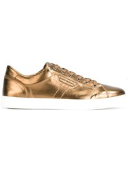 Dolce And Gabbana London Sneakers Metallic