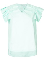 Guild Prime Pleated Sleeve Blouse Green