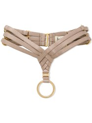 Bordelle Allegra Ring Garter Nude And Neutrals