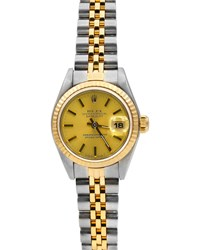 Rolex Pre Owned 36Mm 18K Datejust Automatic Bracelet Watch Two