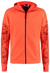 Adidas Performance Tracksuit Top Solar Red Black