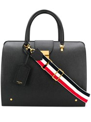 Thom Browne Pebbled Leather Mr. Bag Black