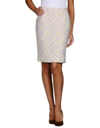 Essentiel Knee Length Skirts Lilac