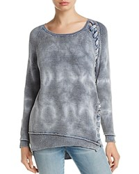 Generation Love Lace Up Sweater Indigo