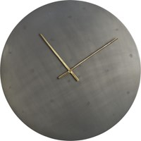 Cb2 Iron Circle 30'' Wall Clock