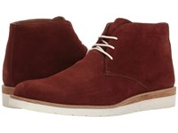 Lotus Leverne Claret Suede Men's Shoes Burgundy