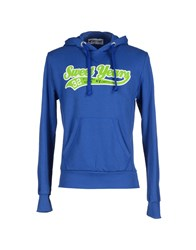 Sweet Years Topwear Sweatshirts Men Bright Blue