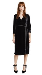 Edition10 Wrapped Dress Black