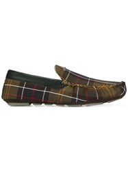 Barbour 'Monty' Slippers Green