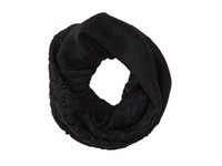 Roxy Cuddle Knit Infinity Scarf True Black Scarves