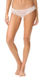 Only Hearts Club Coucou Lola Ruffle Thong Creme