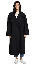 A.W.A.K.E. Oversized Coat With Sleeve Details Black