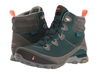 Ahnu Sugarpine Boot Muir Green Women's Hiking Boots Blue