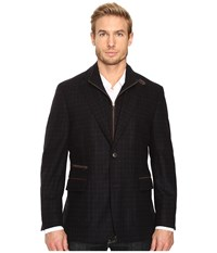 Kroon P Funk Two Button Hybrid Blazer Black Men's Jacket
