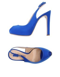 Martin Clay Sandals Bright Blue