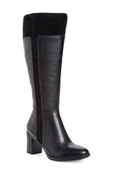Naturalizer Women's Frances Knee High Wide Calf Block Heel Boot
