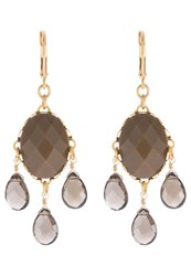 David Aubrey Earrings Brown
