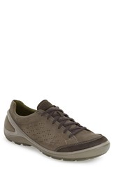 Ecco Men's 'Biom Grip' Sneaker Dark Shadow Leather