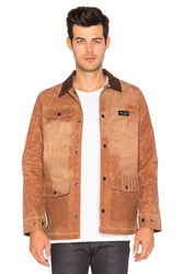 Raised By Wolves Renfrew Work Jacket Brown