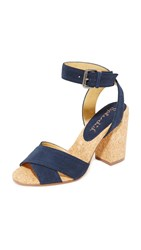 Splendid Birdie Sandals Navy