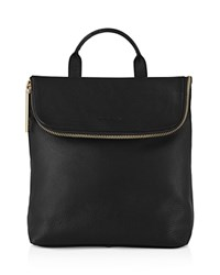 Whistles Verity Mini Leather Backpack Black