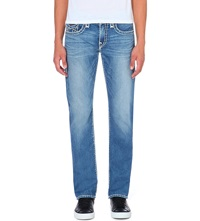 True Religion Ricky Relaxed Fit Straight Jeans Four Rivers
