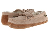 Old Friend Soft Sole Moc Chestnut W Natural Fleece Women's Shoes Beige