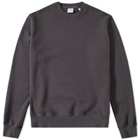 Aspesi Garment Dyed Crew Sweat Grey