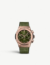 Hublot 521.Ox.8980.Lr Classic Fusion 18Ct King Gold And Alligator Leather Watch