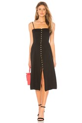 Privacy Please Dex Midi Dress Black