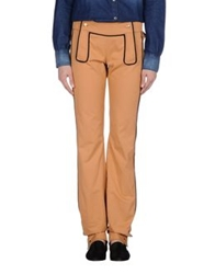 Trussardi Casual Pants Orange