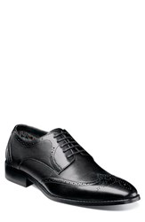 Stacy Adams Lindell Wingtip Black Leather